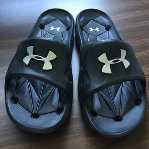 Under Armour Shoes - Under armour men's locker III slides